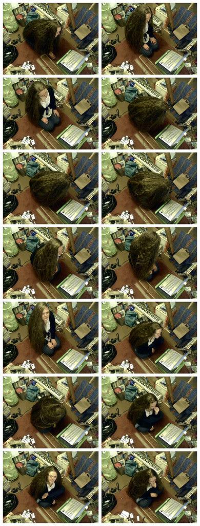 Webcam hair snaps
