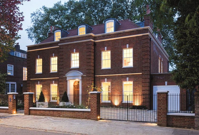 £25+ Million Newly Built Brick Mansion In London, England