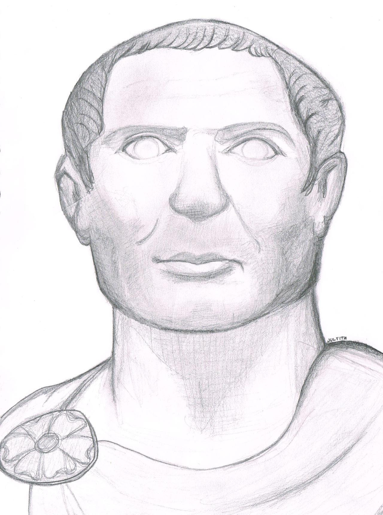 Julius Caesar Drawing
