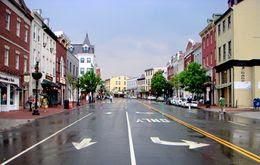 Shops in Georgetown