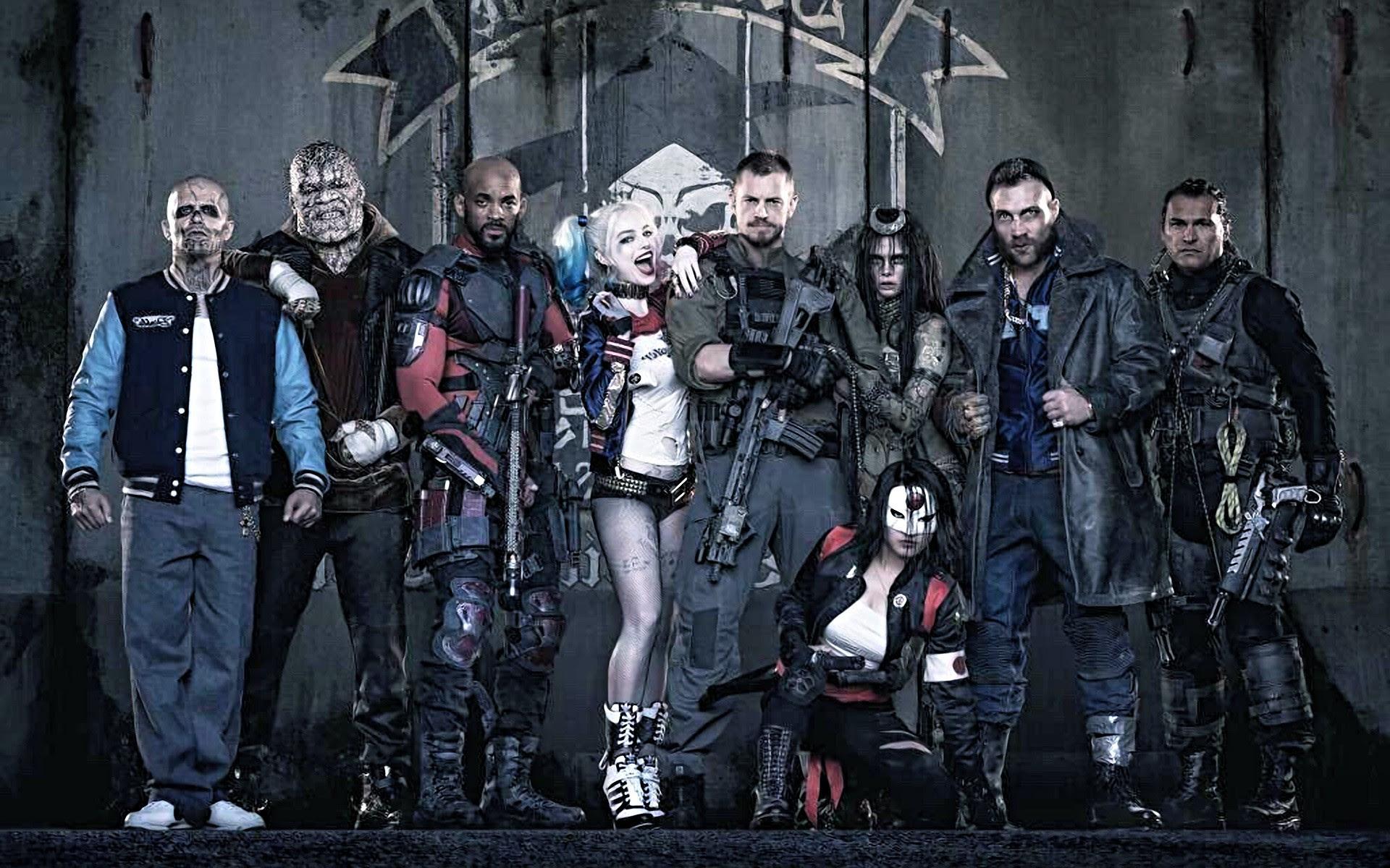 Confira os novos, fofos e minimalistas 10 posters ilustrados de Suicide Squad!