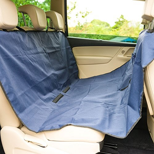 Connected Essentials Tailored Custom Fit Heavy Duty Automotive Carpet Boot Mat Boot Liner for Fabia 2000-2007 Black with Blue Trim