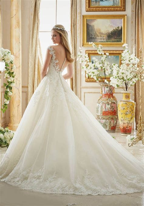 Mori Lee 2889 Wedding Dress   MadameBridal.com