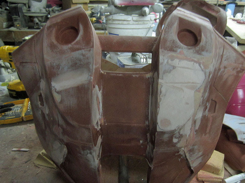 Fairing the Back