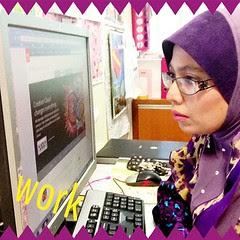 #ABeautifulMess #selfie #work #instapic