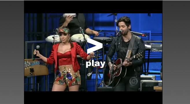 "anittaplay Com Lucas Silveira, Anitta canta clássico de Michael Jackson no ""Altas Horas"""