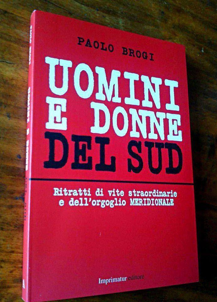 La copertina del libro di Paolo Brogi