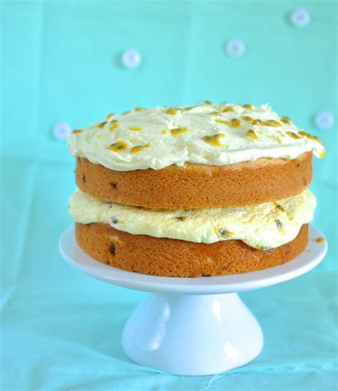 Pin Coconut Passion Fruit Cake Cakes Dean Cake on Pinterest