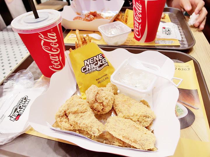 NeNe Chicken cheese Singapore