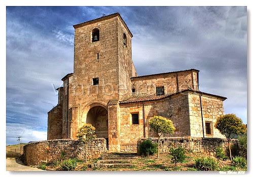 Igreja gótica de Cascajares de Bureba by VRfoto