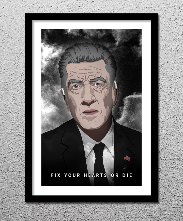 Gordon Cole Twin Peaks David Lynch Fix Your Hearts Or Die