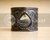 Celtic Stone Cuff