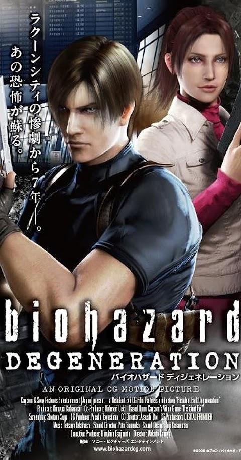 Resident Evil Degeneration(2008) 480p 720p 1080p BluRay Dual Audio (Hindi+English) Full Movie