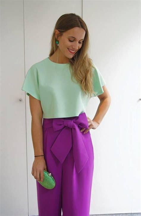ideas  pantalones palazzo fiesta  pinterest