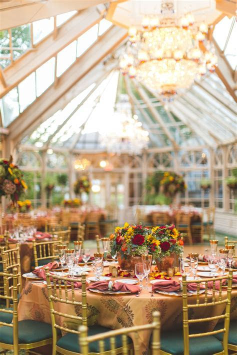 Grand Conservatory at The Brownstone Wedding Reception