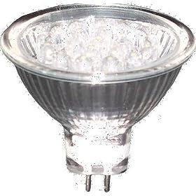 Lights of America 2001LED53IN-65K-24 LED 1 Watt MR16 GU5.3 Base Indoor Light Bulb