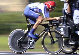 Bradley Wiggins at UCI Road World Championships on September 25, 2013 in Italy
