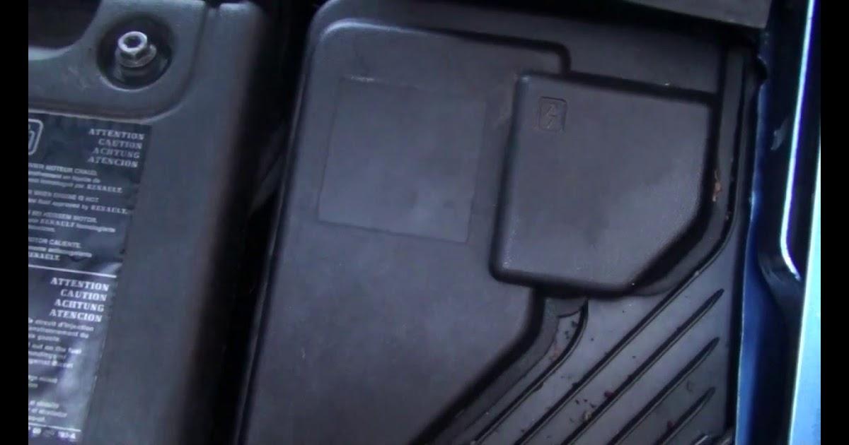 Renault Clio 2008 Fuse Box Diagram