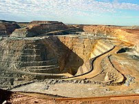 The Super Pit, Australia's largest open-cut go...