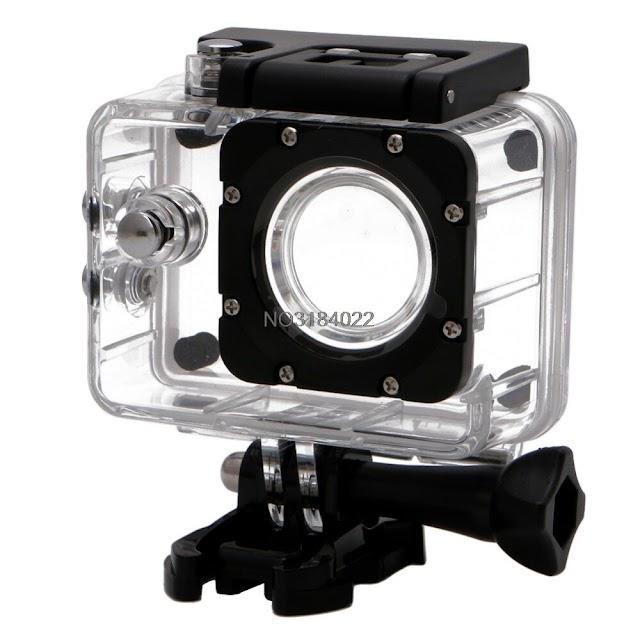 Goede Koop Transparante Waterdichte Duik Behuizing Case Onderwater Beschermhoes Voor SJCAM SJ4000 Action Video Camera 30 M # Goedkoop