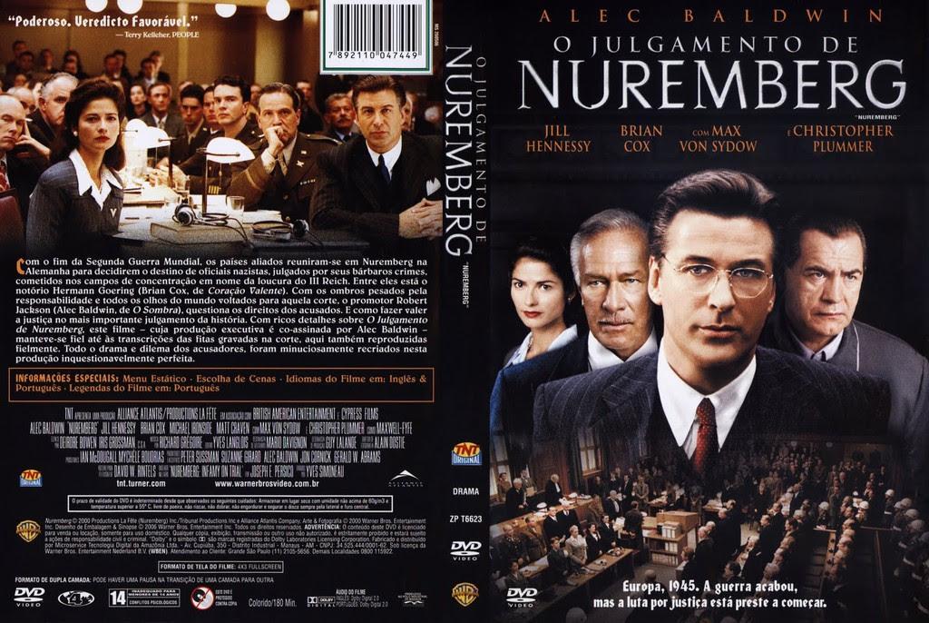 O julgamento de Nuremberg filme espetacular para quem gosta de Direitos Humanos e Internacional
