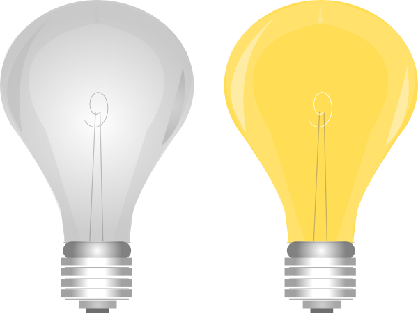 Lightbulb On Off Clip Art At Clkercom Vector Clip Art Online