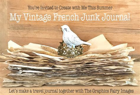 Make Your Own Junk Journal  Free Online Course!   The