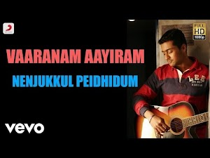 ▷ nenjukkul peidhidum Song Lyrics【Tamil + English】Language