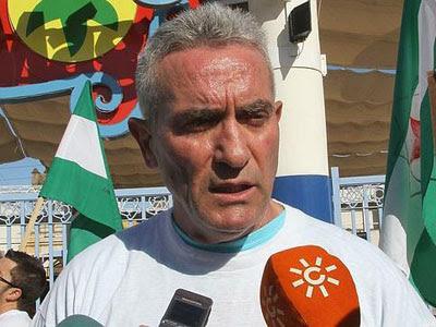 Diego Cañamero, secretario general del SAT.