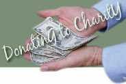 handfuls of cash