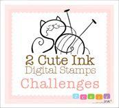 2 Cute Ink Challenge Blog