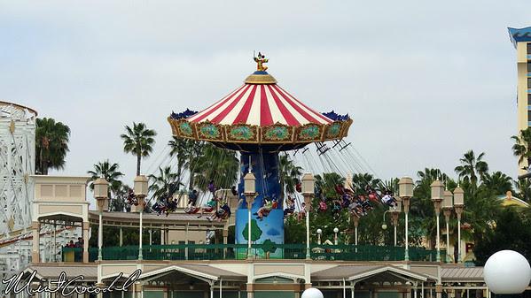 Disney California Adventure, Paradise Pier, Silly Symphony Swings