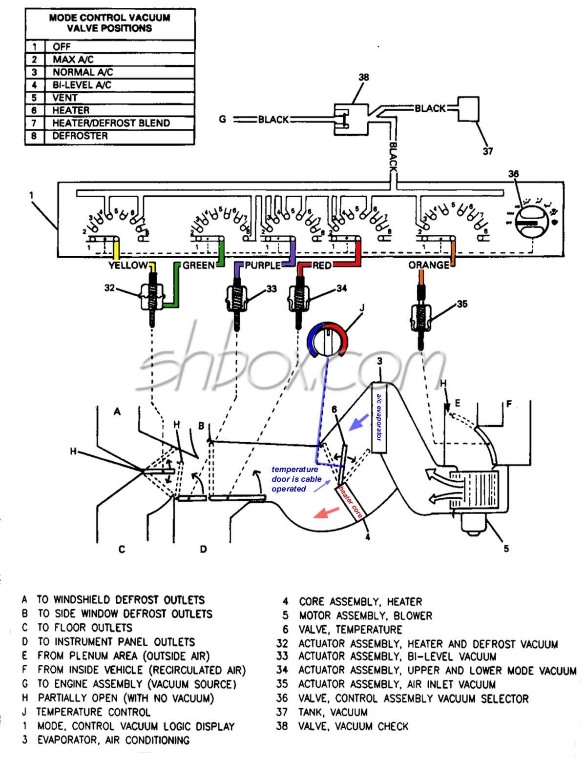 94 96 B Body Vacuum Diagram Chevy Impala Ss Forum