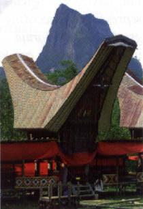 Toraja tongkonan house