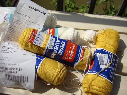 Fröhlich Sockenwolle von Coop city
