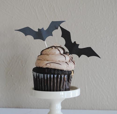 Bat Cupcake Toppers