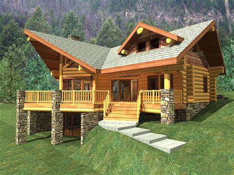 style log cabin style home  great escapism