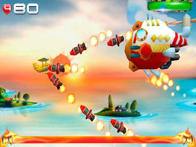 Big Air War Free PC Game Screenshot