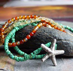 Starfish on the Strands - necklace