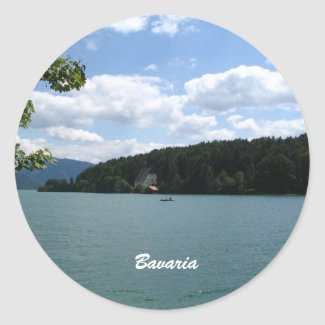 Lake in Upper Bavaria sticker