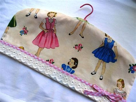 17 Best images about Hanger covers on Pinterest   Fabric