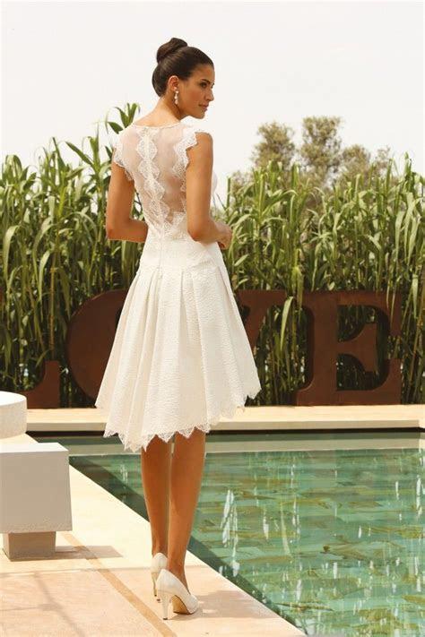 Linea Raffaelli   LR   bridal   Wedding dresses short in