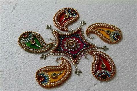 36 best images about Rangoli kundan patches/acrylic