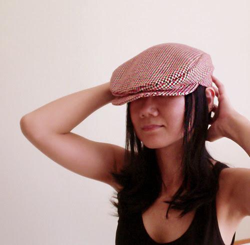 Free pattern - newsboy hat