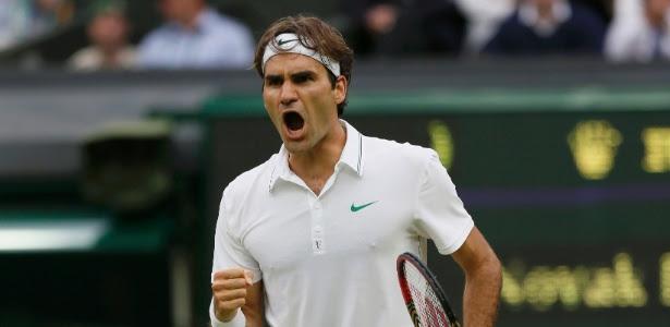 Roger Federer vai em busca de seu sétimo troféu no Torneio de Wimbledon