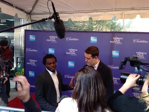 At the Tribeca Film Festival