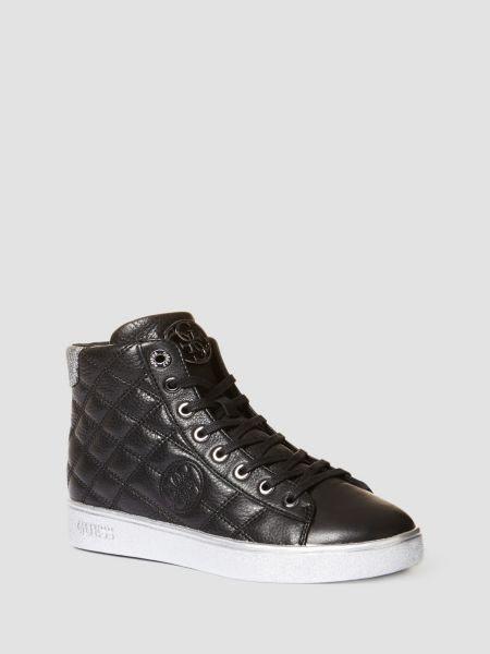 Sneaker Baux Cuir Capitonne