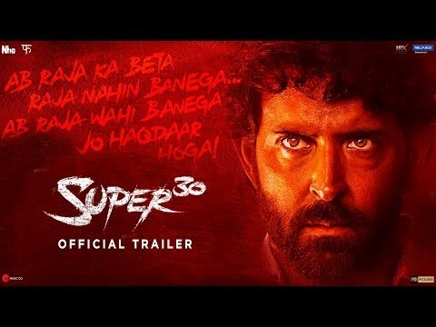 Super 30 Full Hindi Movie by Hrithik has been leaked on Movies Counter