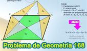 Problema de Geometría 168 (ESL): Paralelogramo, Punto Exterior, Diagonal Triangulo, Pentágono, Suma de Área.