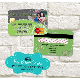 Wedding   Credit Card Teal Green Invitations , Verde Menta